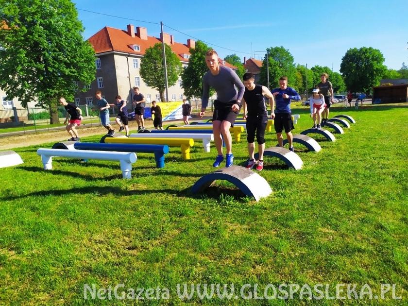 Nareszcie obóz szkoleniowy uczniów ZSEiT w 9 BBKPanc. w Braniewie