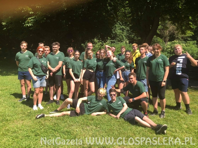 Klasa II z ZSEiT szuka zielonych punktów kontrolnych
