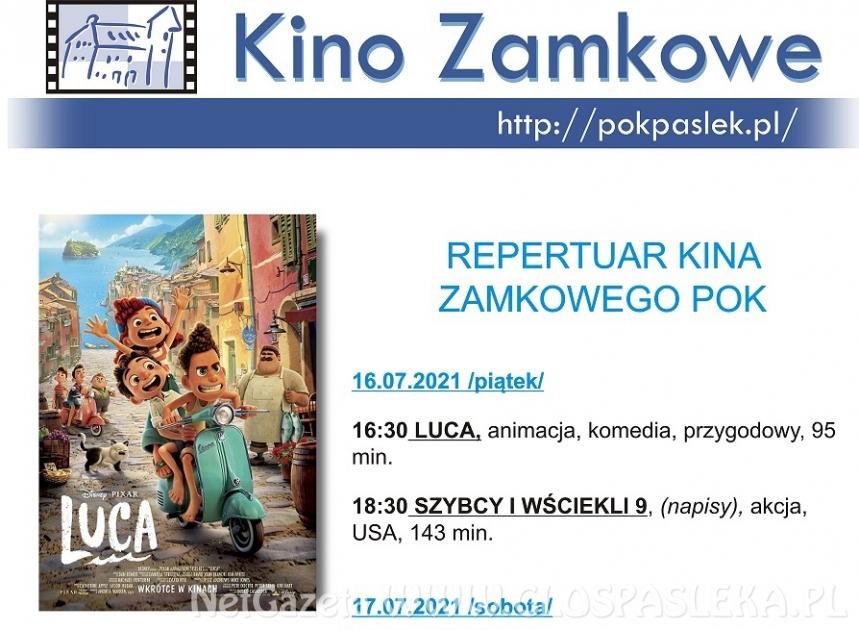 Kino Zamkowe zaprasza