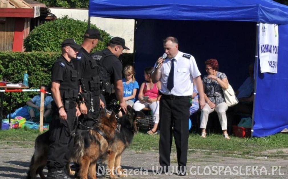 Święto Policji – życzenia burmistrza Pasłęka