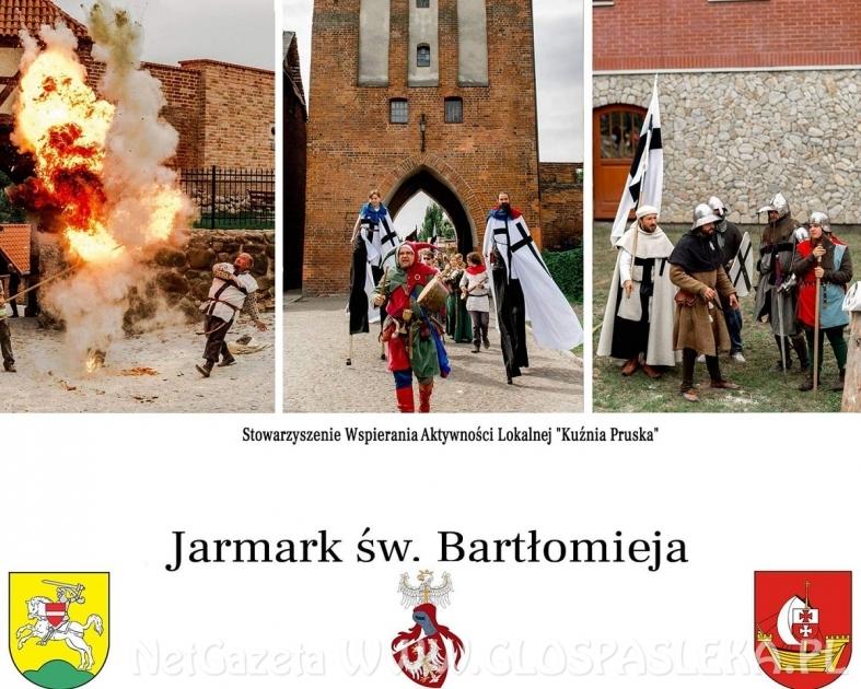 W niedzielę Jarmark św. Bartłomieja w Pasłęku