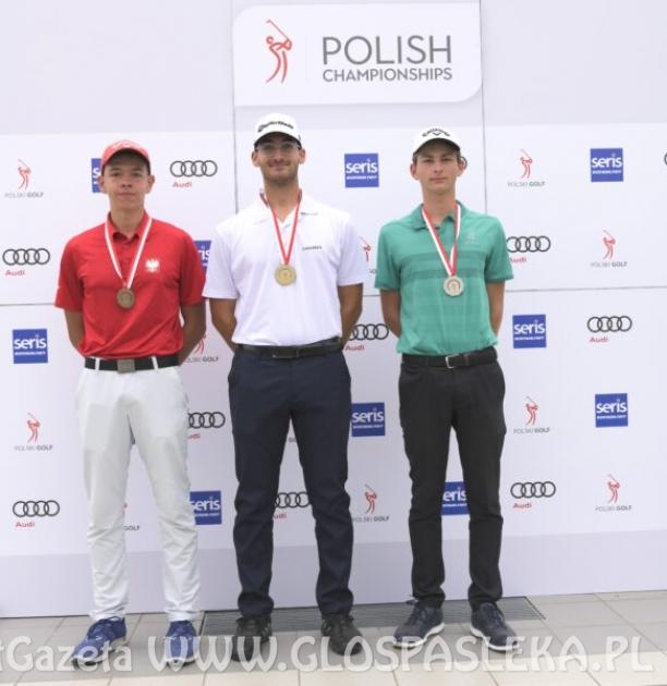 Golf - Pasłęczanin K. Sosnowski MP juniorów