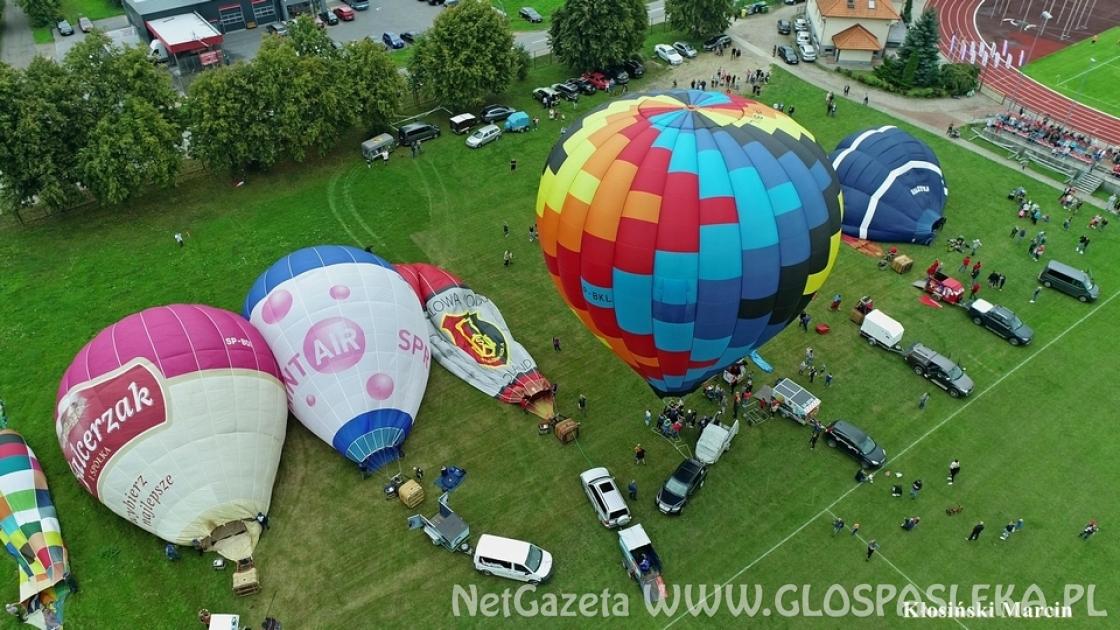 Balony startują ze stadionu