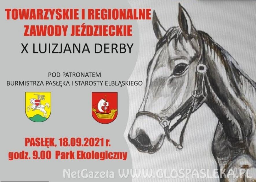 Zaproszenie na zawody jeździeckie