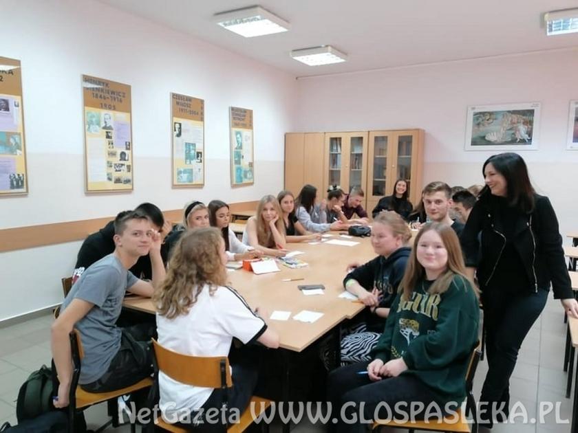 Kolejny projekt Erasmus+ realizowany w ZSEiT w finalnym stadium